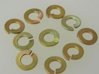 "10 x Single Coil Spring Washers 3/8"" BSF Cadmium Plated Steel Part SP47-J [A3]"